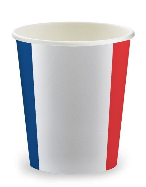 Gobelet 15cl en carton France - 3000 pièces