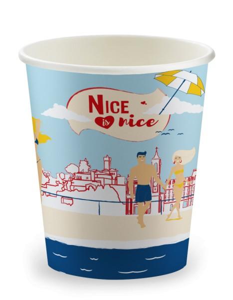 Gobelet 15cl en carton Nice - 3000 pièces