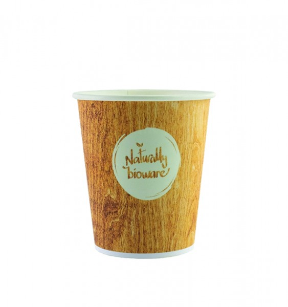 Gobelets 10cl en carton compostables - Bioware18 - 2000 pièces