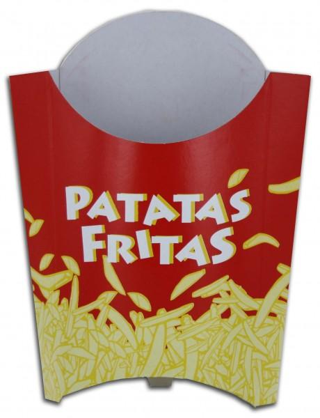 Pochettes frites modèle de taille moyenne