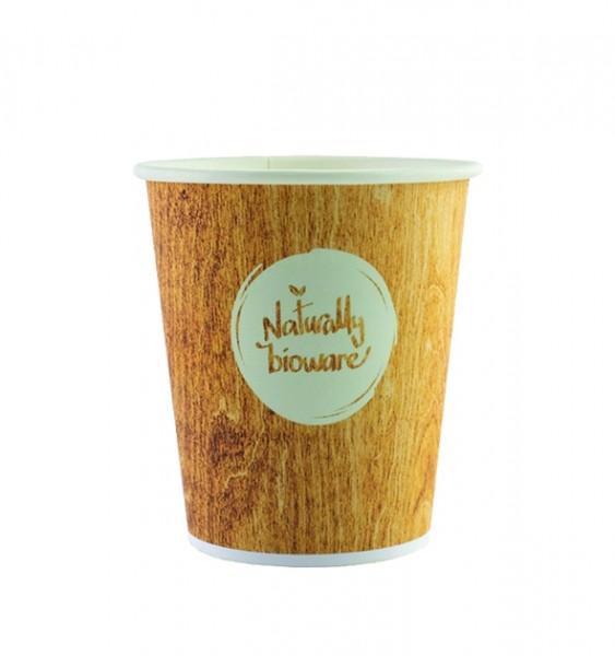 Gobelets 15cl en carton compostables - Bioware18 - 3000 pièces