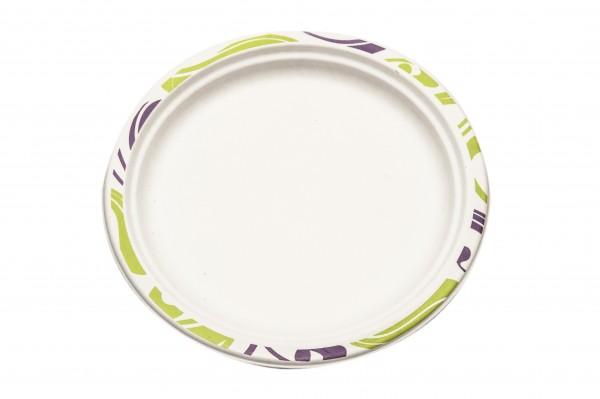 Assiette ronde 17cm - Chinet - Flavour