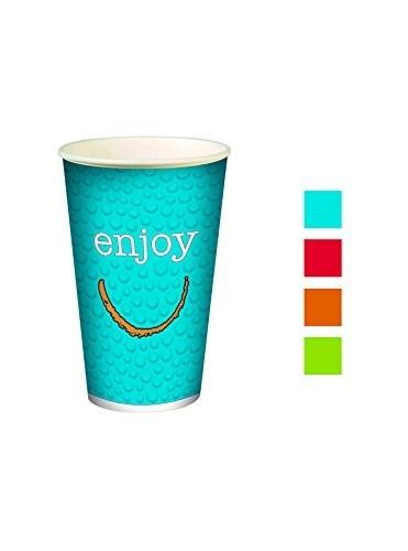 Gobelet 30 cl en carton Enjoy pour boissons froides - 2000 pièces
