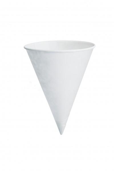 Cônes papier blanc 12 cl x 5000 pièces