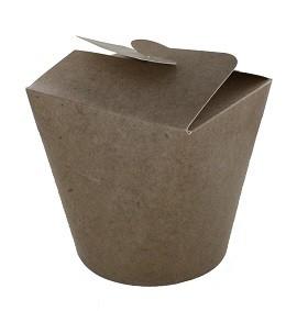 Boites à emporter refermables 80cl en carton - 450 pièces