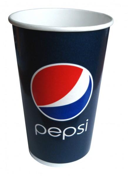 Gobelet 40 cl en carton pour boissons froides Pepsi