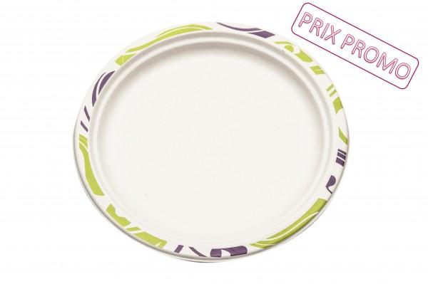 Assiette ronde 17cm - Chinet - Flavour PROMO
