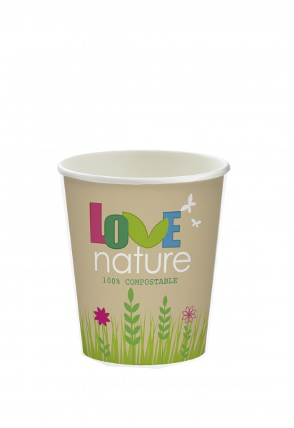 Gobelets 20cl en carton biodégradable - Chinet