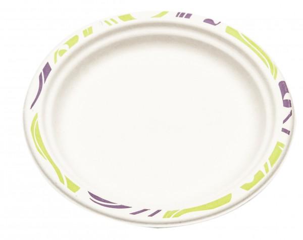 Assiette ronde 24cm - Chinet - Flavour