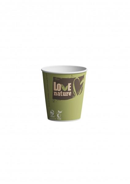 Gobelets 10cl en carton biodégradable - Bioware - 2000 pièces
