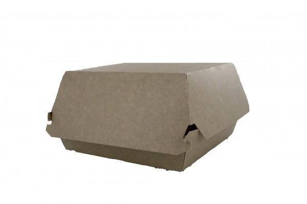 Boites Burger kraft en carton 10x10 cm - 320 pièces