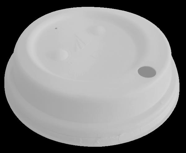 Couvercles blancs en fibre 90mm x 1200 pièces