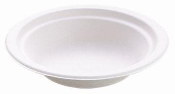 Bol rond blanc 400ml - Chinet