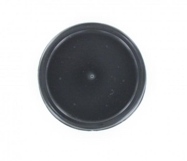 Couvercles noirs pour gobelets en carton diamètre 62,5mm
