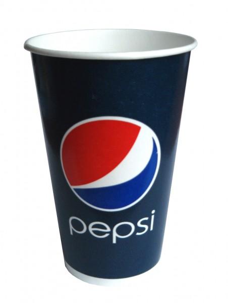 Gobelet 30 cl en carton pour boissons froides Pepsi - 2000 pièces